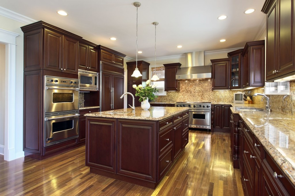 Fabuwood Elite Merlot Kitchen Cabinets